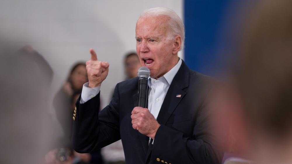 Democratic presidential candidate Joe Biden campaigning in early 2020 (Photo: Mario Gonzalez/CBN News)