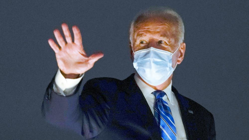 Democratic presidential candidate former Vice President Joe Biden (AP Photo/Andrew Harnik)