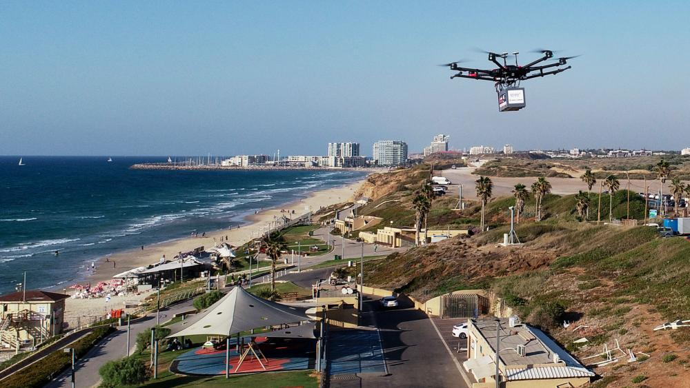 Israel is testing delivery by drones. Photo: Highlander