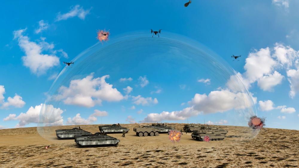 Laser Defense System