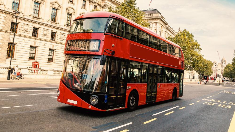 London Double Decker Bus AS