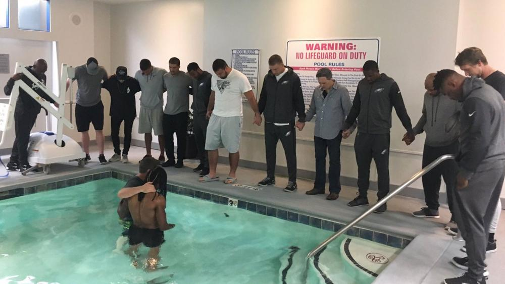 Marcus Johnson Baptism Twitter