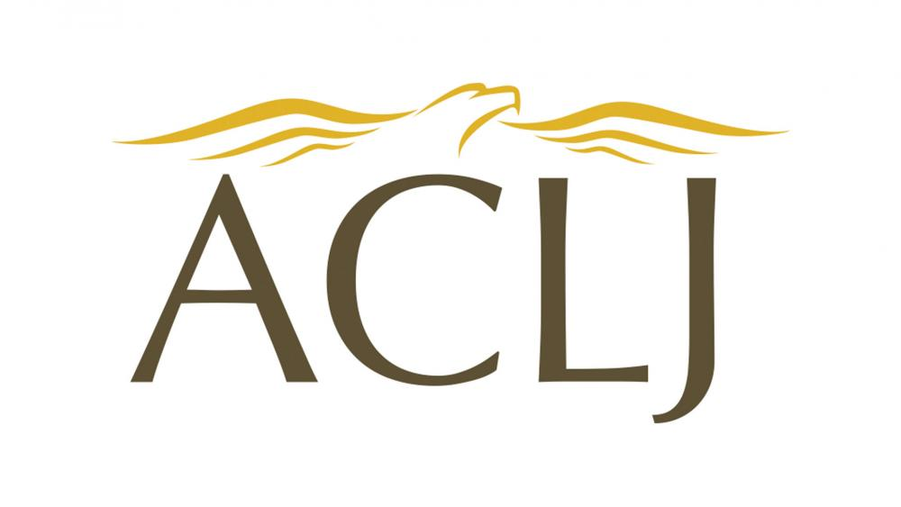 The logo of the American Center for Law and Justice.