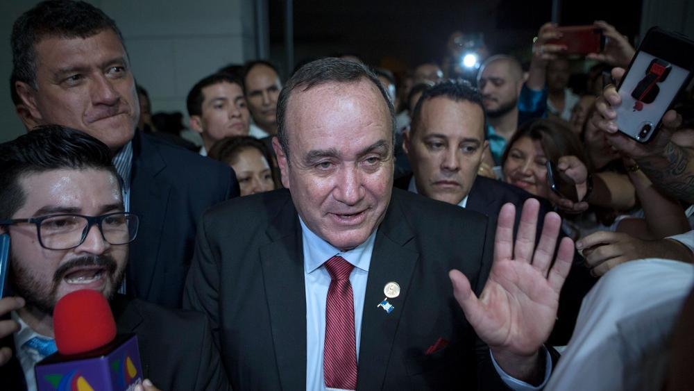 President Alejandro Giammattei Courtesy AP