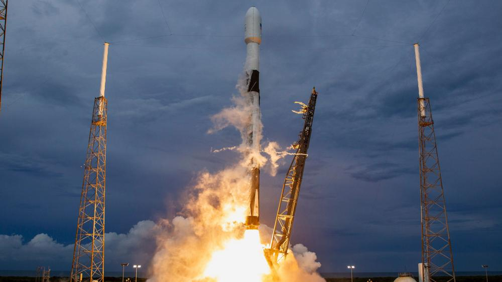 AMOS-17 Launch (August 6, 2019) Courtesy: SpaceX