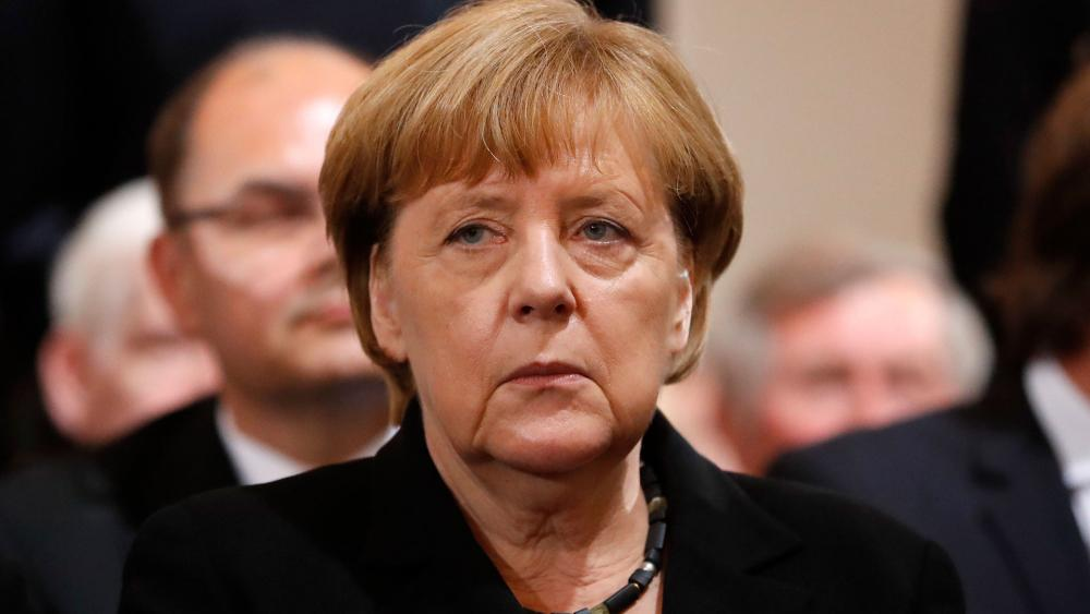 German Chancellor Angela Merkel, Photo, AP