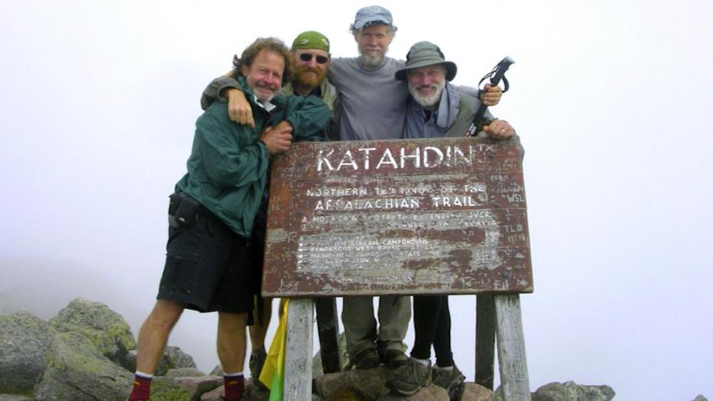 End of the Appalachian Trail