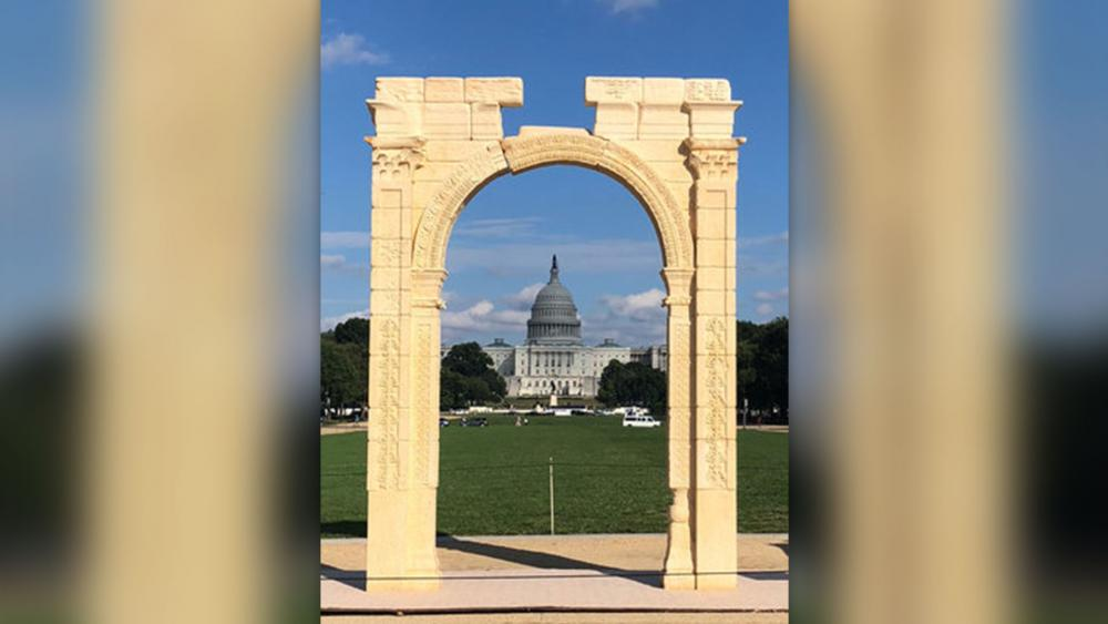 Image result for picture of arch of baal in washington dc