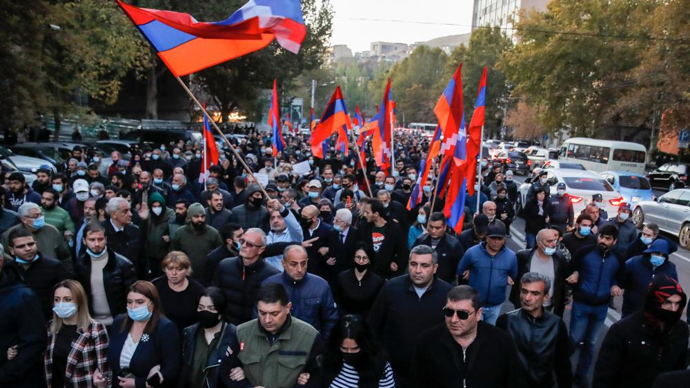 Armenians Fear Ethnic Cleansing Will Wipe Out Christian Culture After Peace Deal with Azerbaijan thumbnail