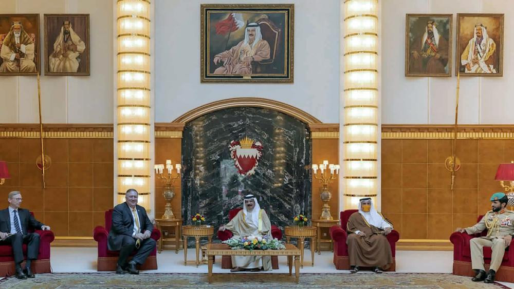 Pompeo held closed-door meetings on, Aug. 6, 2020 with Bahrain's royal family and top officials in the United Arab Emirates amid the Trump administration's push for Arab nations to recognize Israel.