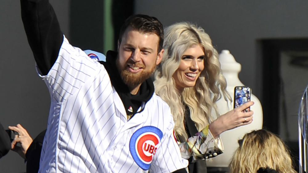 Ben and Julianna Zobrist. (AP Photo)