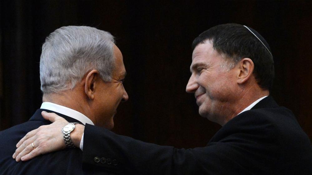 Prime Minister Benjamin Netanyahu and Knesset Speaker Yuli Edelstein, GPO, Kobi Gideon