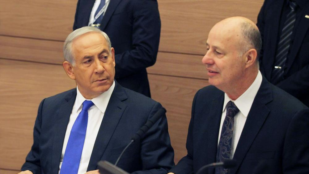 Prime Minister Benjamin Netanyahu and Regional Cooperation Minister Tzachi Hanegbi, Photo, Facebook