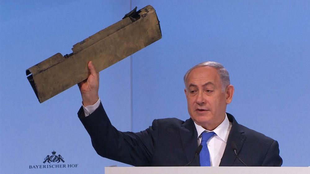 Israeli Prime Minister Benjamin Netanyahu at Munich Security Conference, Photo, Screen Capture