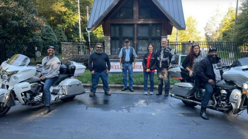 YouTube Screenshot: Rock Hill First Church of the Nazarene/Bikers for Boxes