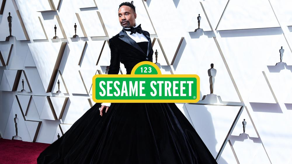 Cross-dressing gay icon Billy Porter is appearing on Sesame Street