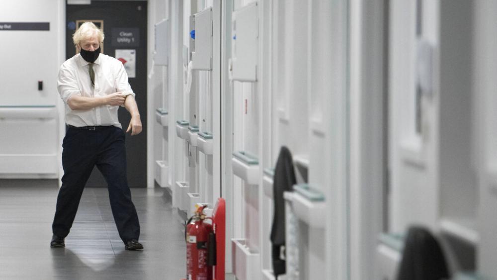 UK Prime Minister Orders New Virus Lockdown for England thumbnail