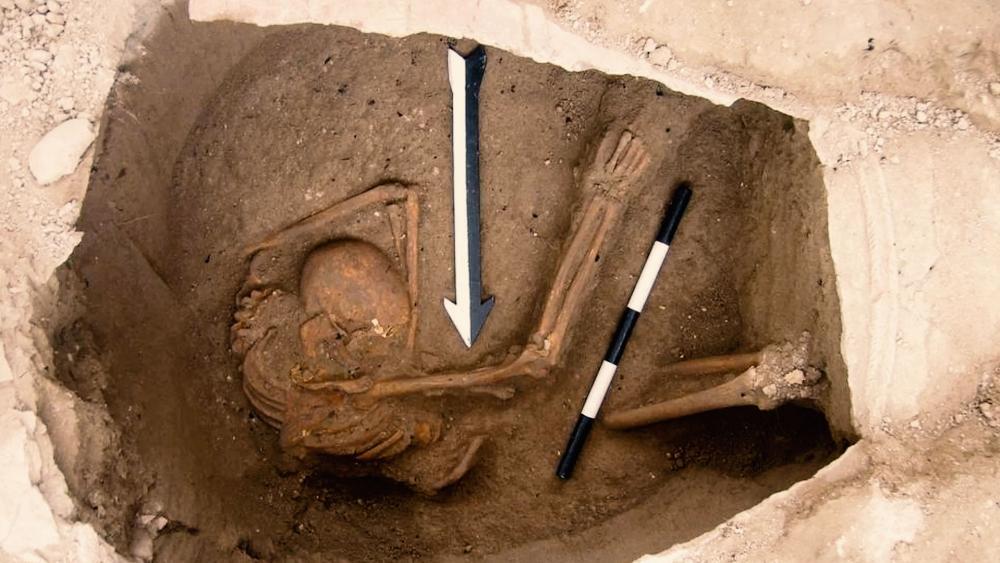 Buried Canaanite, Photo, The Sidon Excavation, Dr. Claude Doumet-Serhal