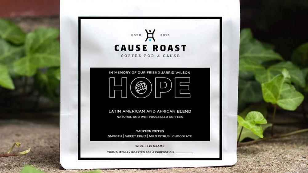 huge discount 18265 0c3b6 Coffee Company Co-Founded by Jarrid Wilson Releases 'HOPE ...