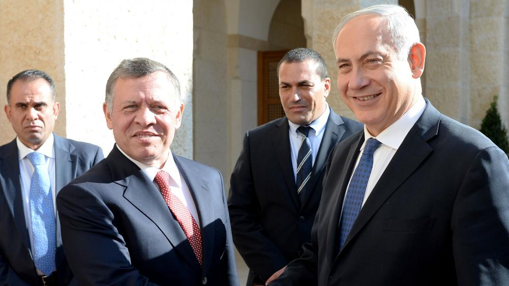 Israel's Netanyahu, Jordan's Abdullah meet in Amman
