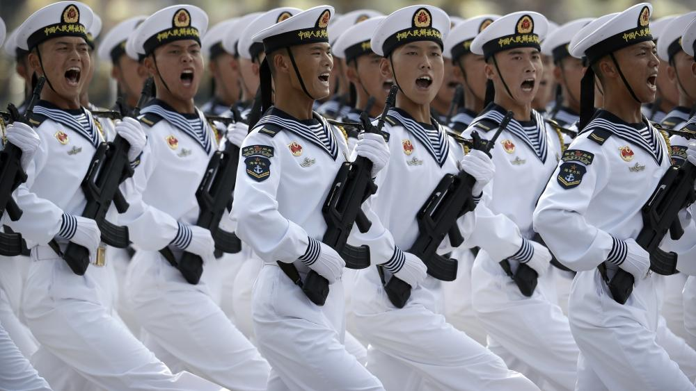 China Navy Parade