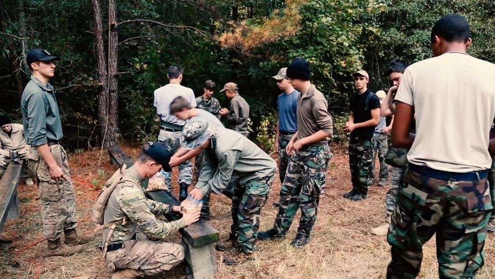 Wilderness training molds boys into men