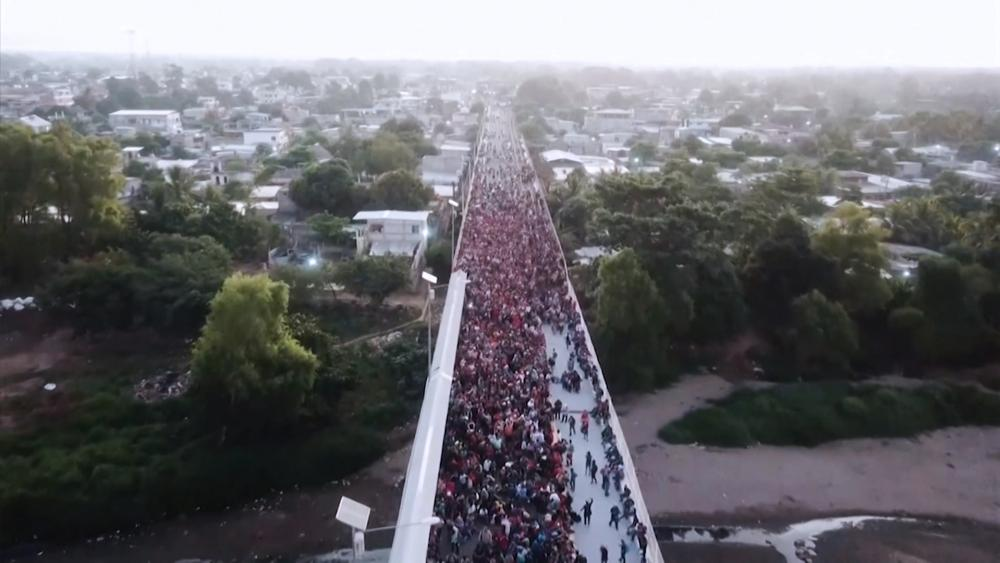 Central American migrants