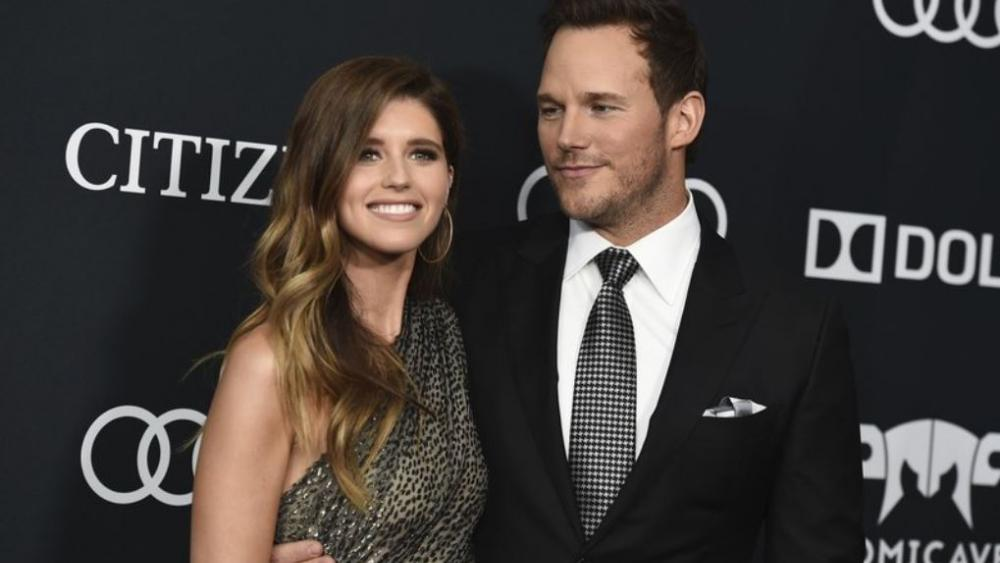 "In this April 22, 2019, file photo, Katherine Schwarzenegger, left, and Chris Pratt arrive at the premiere of ""Avengers: Endgame,"" at the Los Angeles Convention Center.  (Photo by Jordan Strauss/Invision/AP, File)"