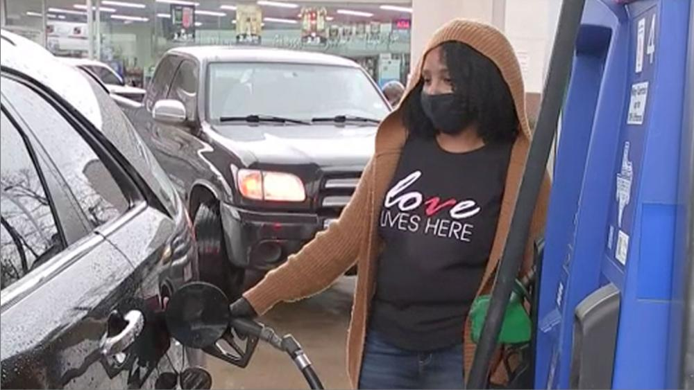 Greater Emmanuel Family Worship Center Church held a gas giveaway in Houston