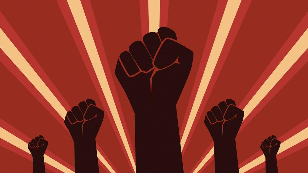 The raised fist first became a symbol of communism in the 1920s.