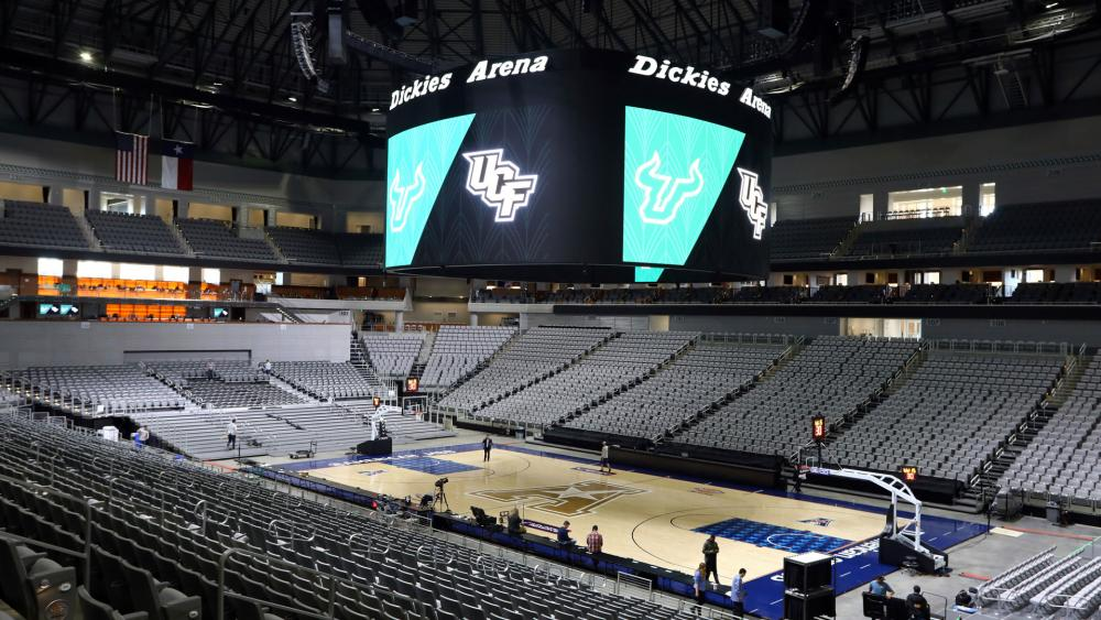 in the American Athletic Conference tournament were canceled Thursday, March 12, 2020