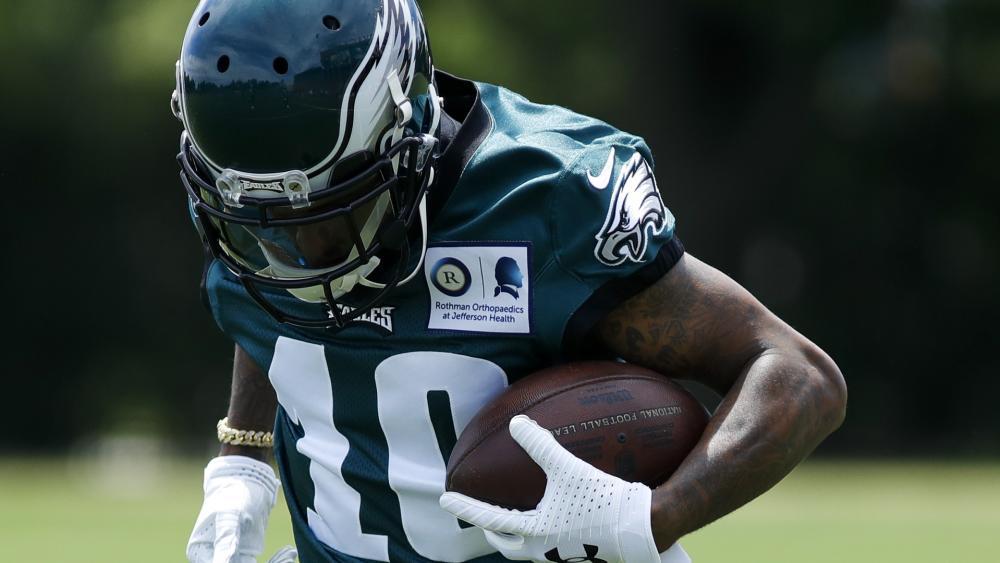 Philadelphia Eagles WR DeSean Jackson. (AP Photo)