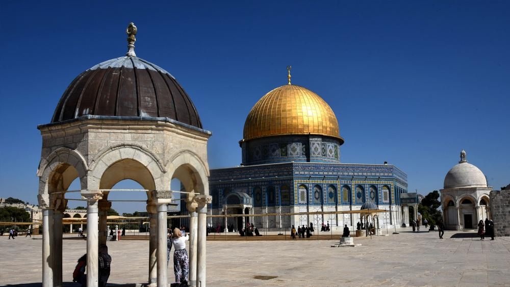 Dome of the Rock, Courtesy TPS