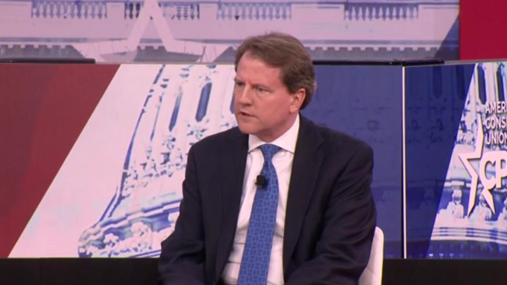 Don McGahn. (Screenshot credit: APTN)