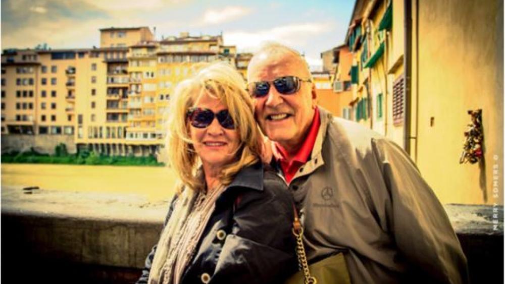 Donna and Richard Holbrook. (Image courtesy: ICEJ)