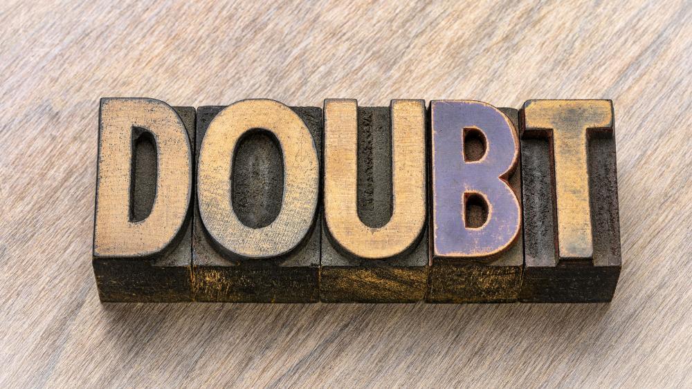 Doubt. (Image: Adobe Stock)
