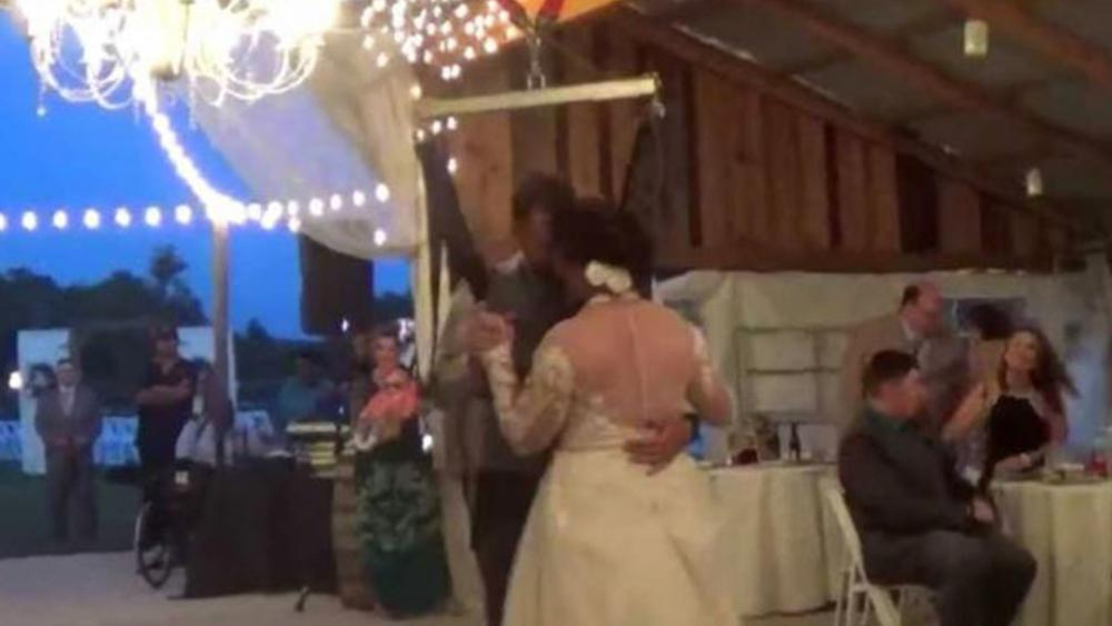 Nothing Stops A Soldier Paralyzed Vet Surprises Wife Dances With