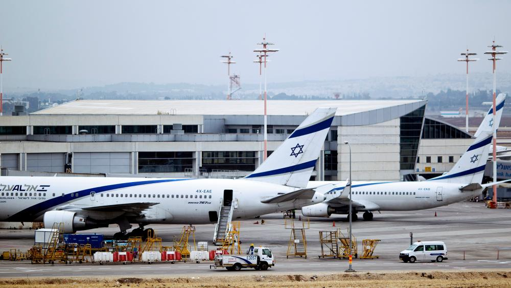 this April 21, 2013, file photo, Israeli El Al planes are parked at Ben Gurion airport near Tel Aviv, Israel. Israel has listed an El Al flight taking off Monday, Aug. 31, 2020, for Abu Dhabi. (AP Photo/Ariel Schalit, File)