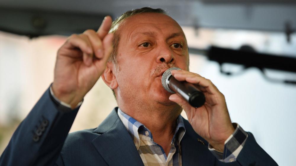 Turkish President Recep Tayyip Erdogan in Istanbul, Associated Press image