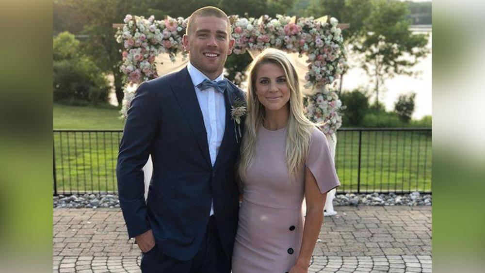 Zach and Julie Ertz.