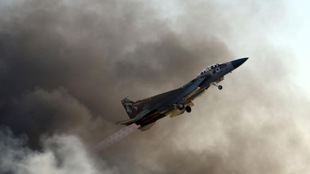 Israel Air Force F-15 Eagle, Courtesy GPO, Haim Zach