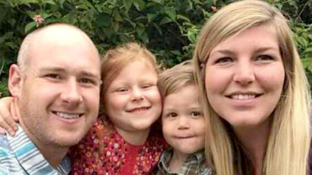 Missionaries Brendan and Melissa Perrott, along with their two children Evelyn and Colton were killed in a head-on collision in South Africa on Sunday. (Image credit: Bulembu Ministries Swaziland/Facebook)