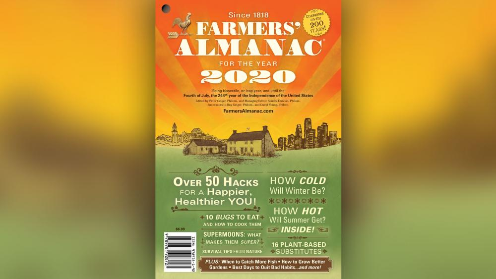 Farmers' Almanac cover 2020.