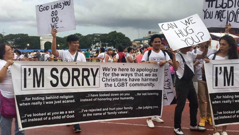 Group of Christians Crash Pride Parade