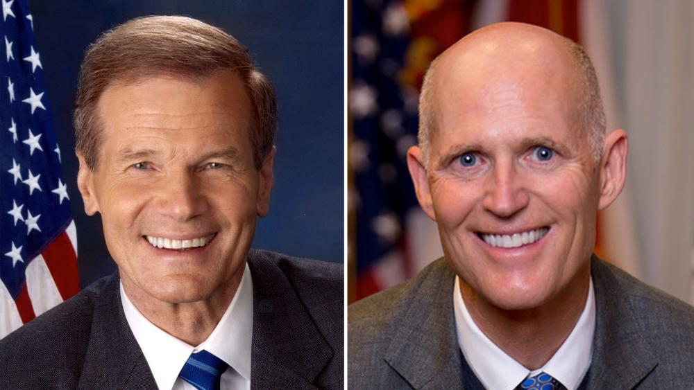 Florida Senate race, Sen. Bill Nelson (D), Gov. Rick Scott (R)