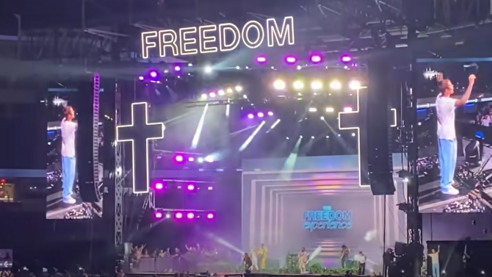Image Source: YouTube Screenshot/The Freedom Experience