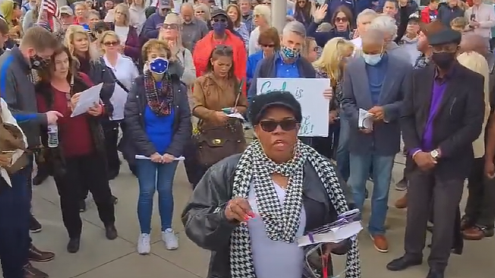 Image Source: YouTube Screenshot/Georgia Prayer March