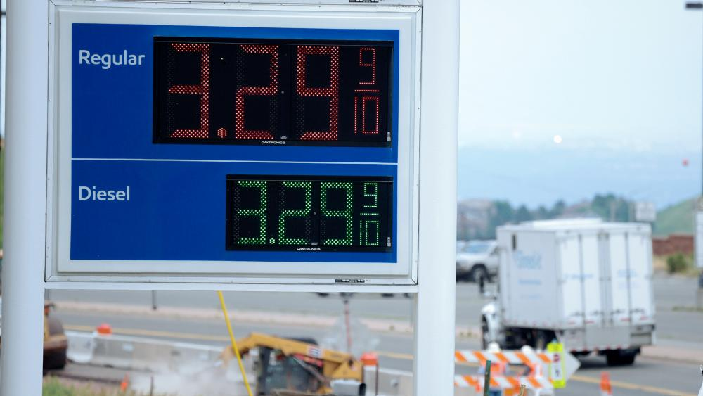 Drivers are facing pricier fill-ups as more people hit the road for work, travel and other activities that the virus pandemic halted. (AP Photo/David Zalubowski)