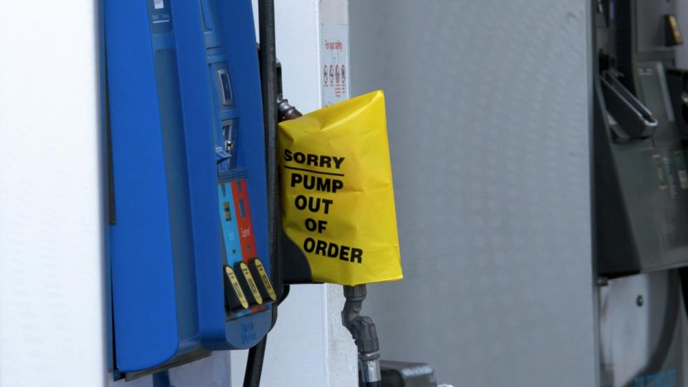 Many gas stations have run of gas, after a cyberattack on Colonial Pipeline