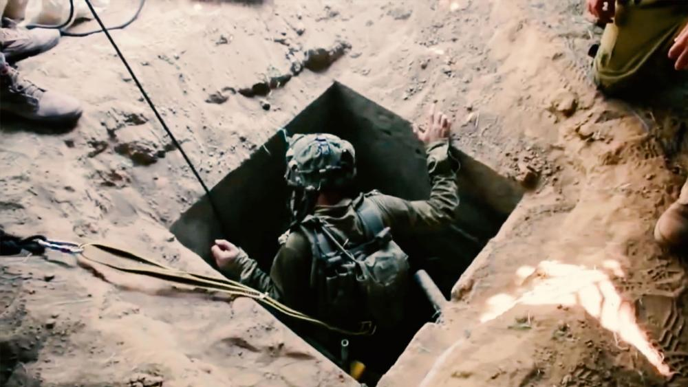 Hamas Attack Tunnel in Gaza